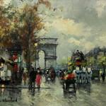 Antoine Blanchard, Champs Élysées